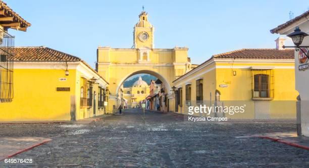 Santa Catalina Arch in Antigua Downtown District