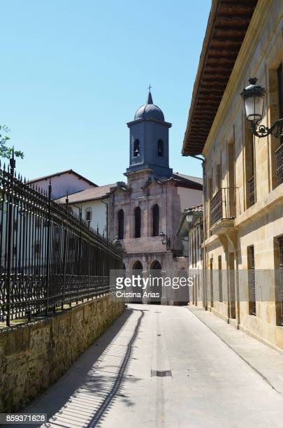 Santa Clara church and old hospital in Gernika on 19 June 2017 Vizcaya Basque Country Spain