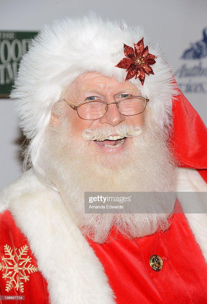 Santa Claus arrives at the 2012 Hollywood Christmas Parade Benefiting Marine Toys For Tots on November 25, 2012 in Hollywood, California.