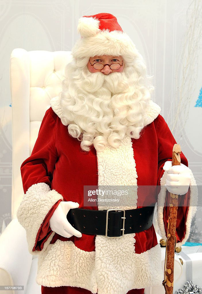 Santa Clause attends The Paley Center and Warner Bros. Television's special holiday display unvailing at The Paley Center for Media on December 5, 2012 in Beverly Hills, California.