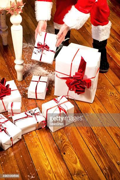 Weihnachtsmann, die Geschenke