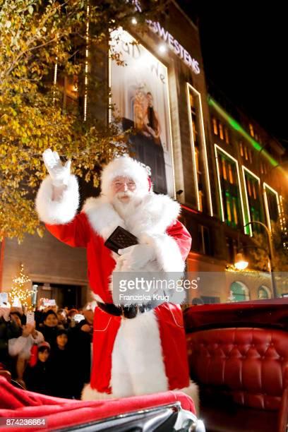 Santa Claus during the KaDeWe Berlin Celebrates Christmas Gallery Opening at KaDeWe on November 14 2017 in Berlin Germany