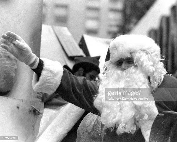 Santa Claus is on hand to remind everyone that the Christmas shopping season has officially begunThe 51st annual Macy's Thanksgiving Day parade got...