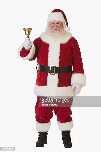 Santa Claus ringing bell