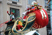 'Santa Claus' takes part in the 88th Annual Macy's Thanksgiving Day on November 27 2014 in New York City