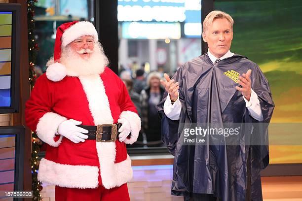 AMERICA Santa Claus visits 'Good Morning America' 12/4/12 airing on the ABC Television Network SANTA