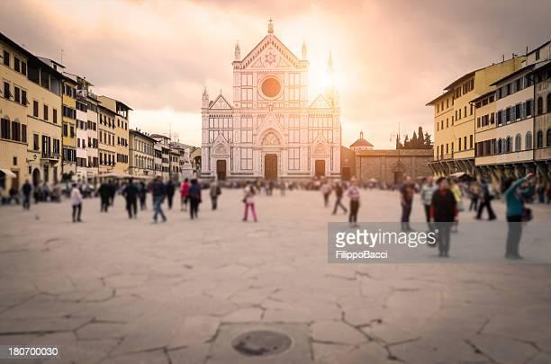 Piazza di Santa Croce-Firenze