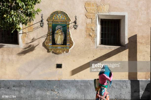 Santa Cruz Church. Seville. Spain