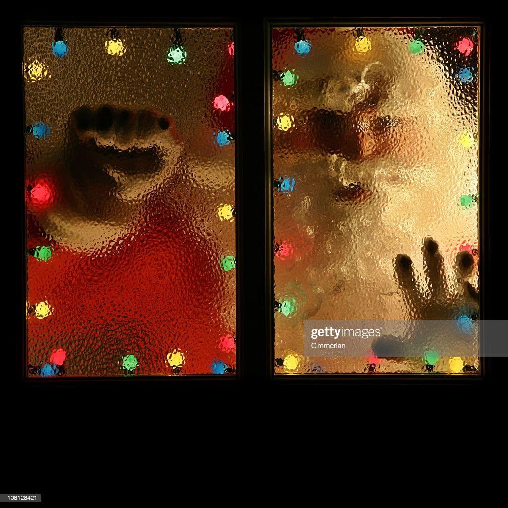 Santa knocking