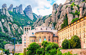 Santa Maria de Montserrat abbey, Catalonia Spain