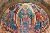 Santa Maria de Taull central apse detail. Romanesque art. Spain