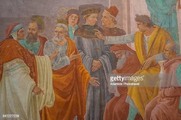Santa Maria del Carmine, Cappella Brancacci with frescos by Masaccio and Filippino Lippi