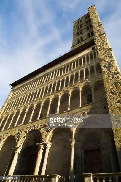 Santa Maria Della Pieve Arezzo Tuscany Italy