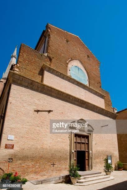Santa Maria Di Piazza Church Ostra Vetere Marche Italy