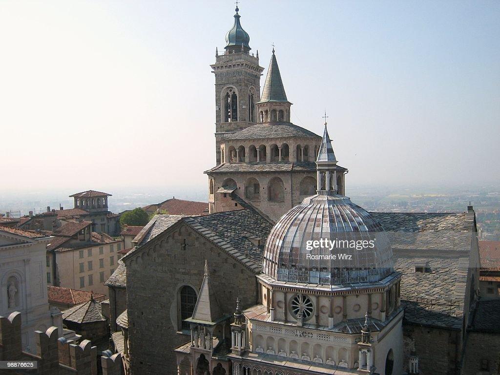 Santa Maria Maggiore in Bergamo : Stock Photo