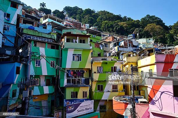 Santa Marta favela, Rio de Janeiro, Brazil