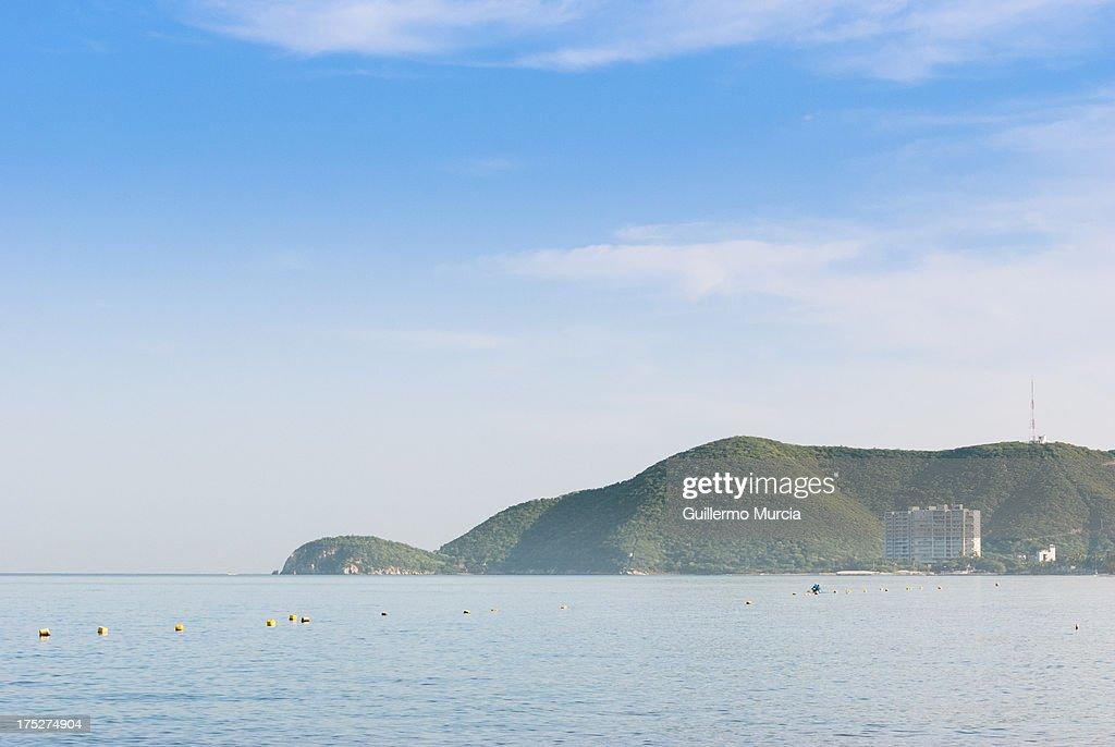 Santa Marta Ocean and Mountains