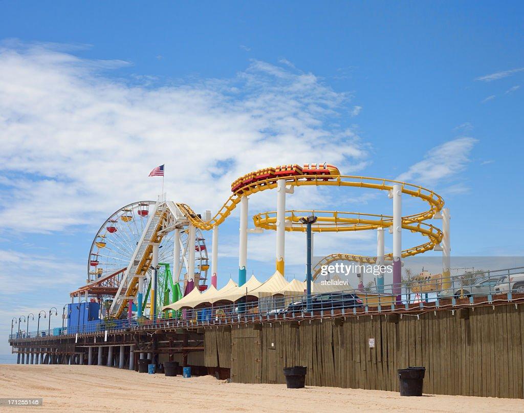 Santa Monica Beach and Pier