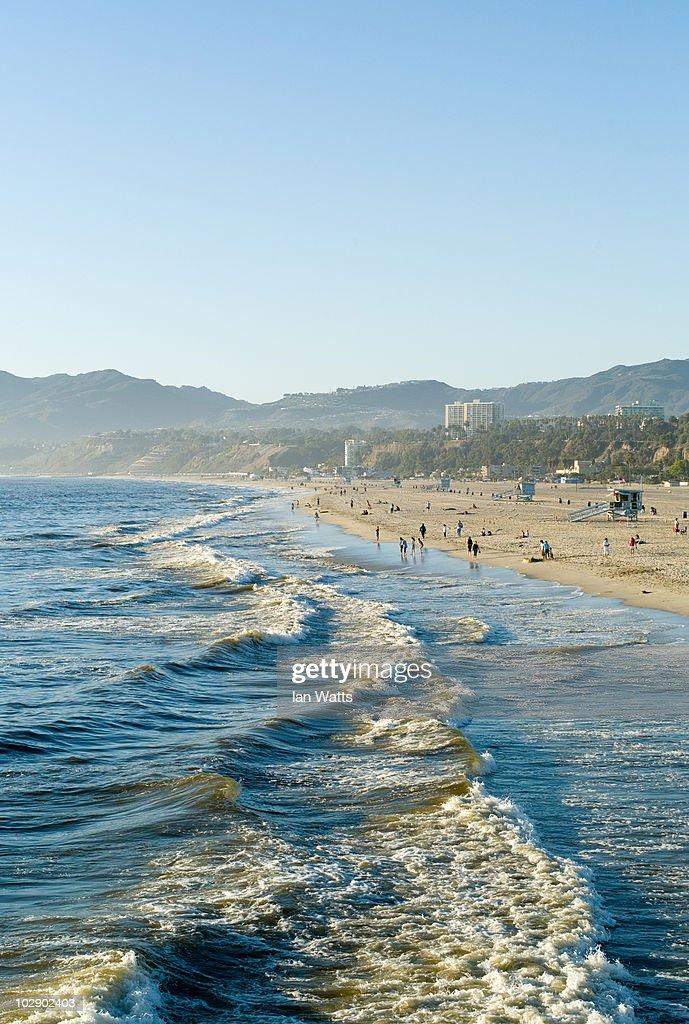 Santa Monica Beach : Stock Photo