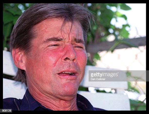 07/06/99 Santa Monica CA Actor JanMichael Vincent at home in Santa Monica Picture by DAN CALLISTER Online USA Inc