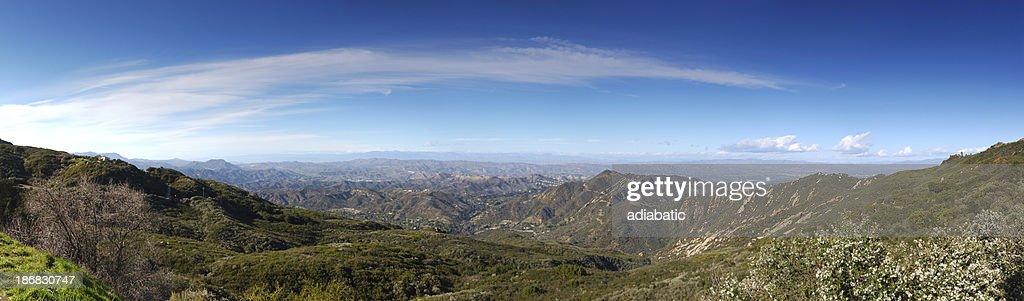 Santa Monica Mountains Panorama