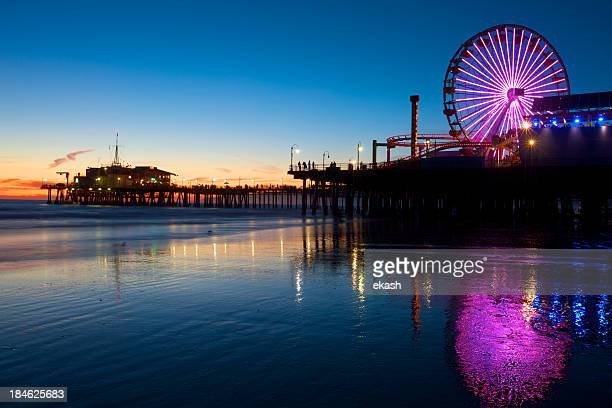 Muelle de Santa Monica, California