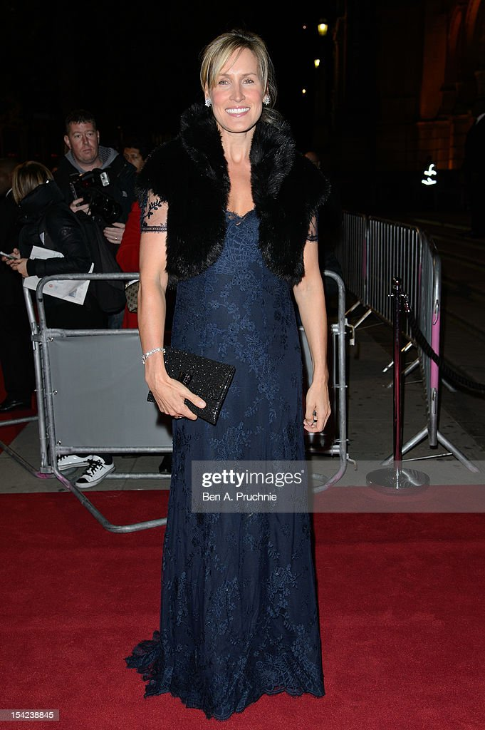 Santa Montefiore attends the Hollywood Costume gala dinner at Victoria & Albert Museum on October 16, 2012 in London, England.