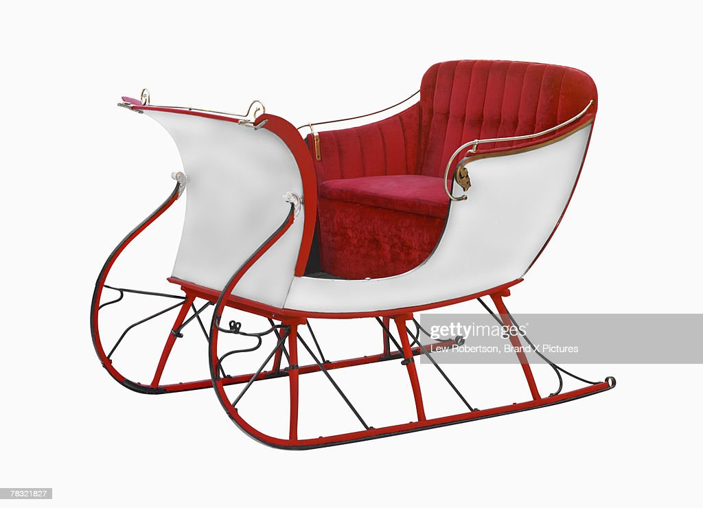 Santa Sleigh Stock Photo | Getty Images