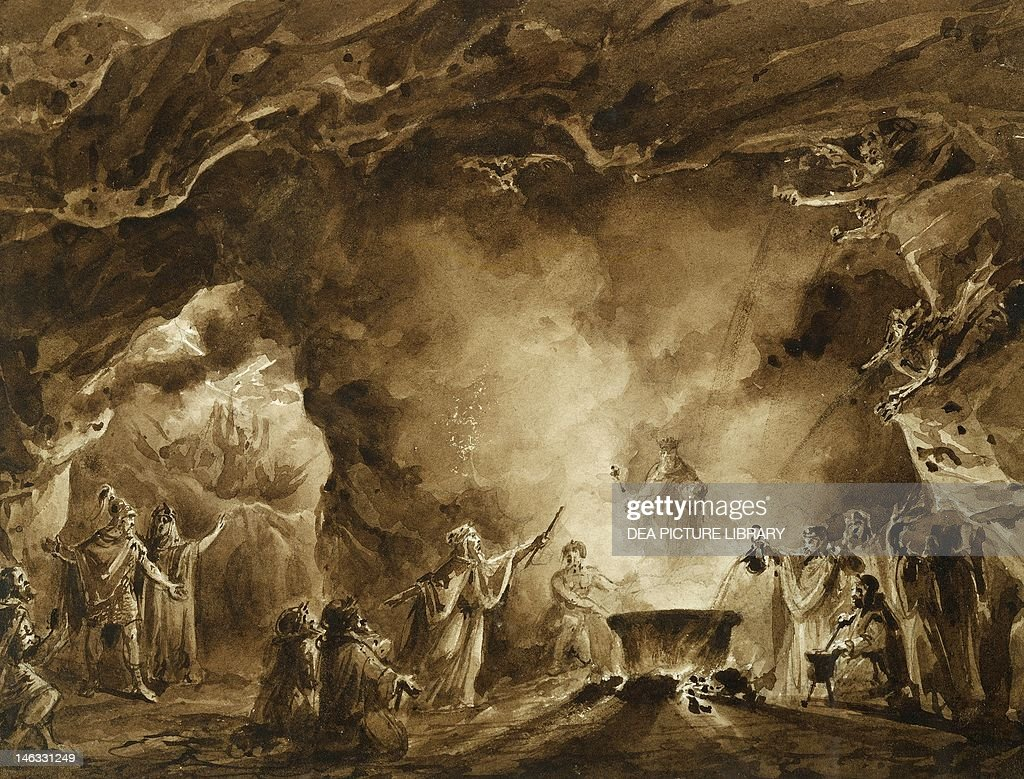 macbeth and the witches stock photos and pictures getty images