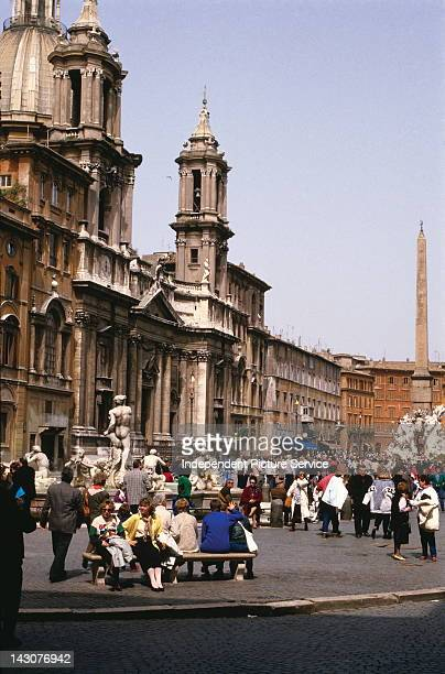 Sant'Agnese in Agone a basilica church in Rome Italy