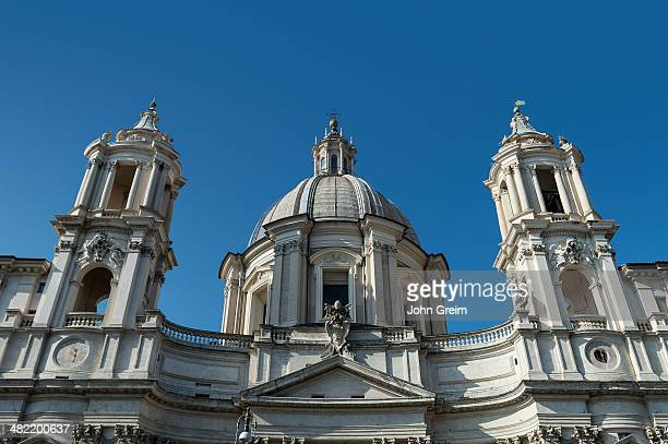 Sant'Agnese in Agone located in the Piazza Navona