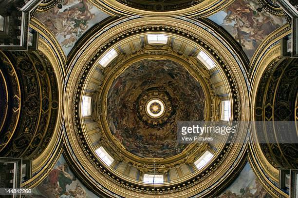 Sant'Agnese In Agone Piazza Navona RomeItaly Architect Francesco Borromini St Agnes In Agone Rome Ceiling