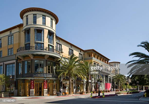 Santana Row shopping district, San Jose, CA
