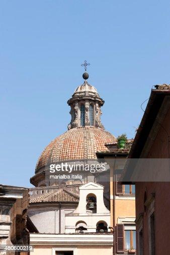 Sant'Angelo in Pescheria's Dome : Stock Photo