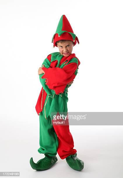 Santa's furious helper