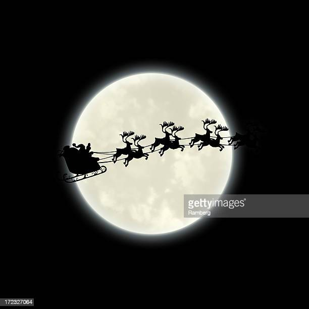 Du Père Noël traîneau XXL