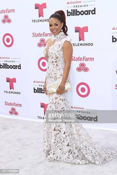 Santaye arrives at 2015 Billboard Latin Music Awards presented bu State Farm on Telemundo at Bank United Center on April 30 2015 in Miami Florida