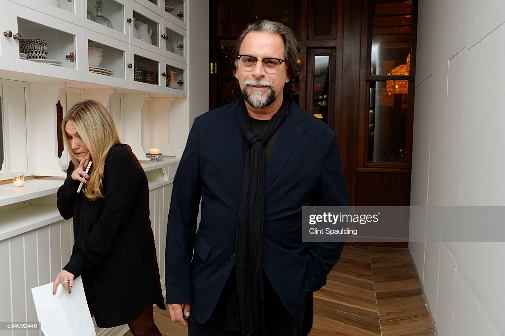 Sante D'Orazio attends the Cinema Society and Chopard host the after party for Oscilloscope's 'ma ma' at Cafe Medi on May 24, 2016 in New York City.