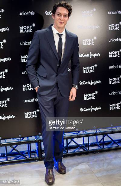 Santi Blanco attends the Montblanc Presents Charity Collection For UNICEF on April 25 2017 in Madrid Spain