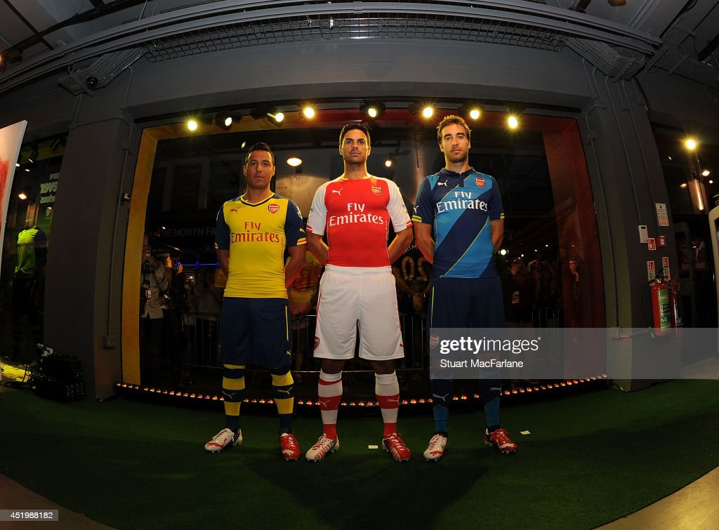 Arsenal Launch New Puma Kits