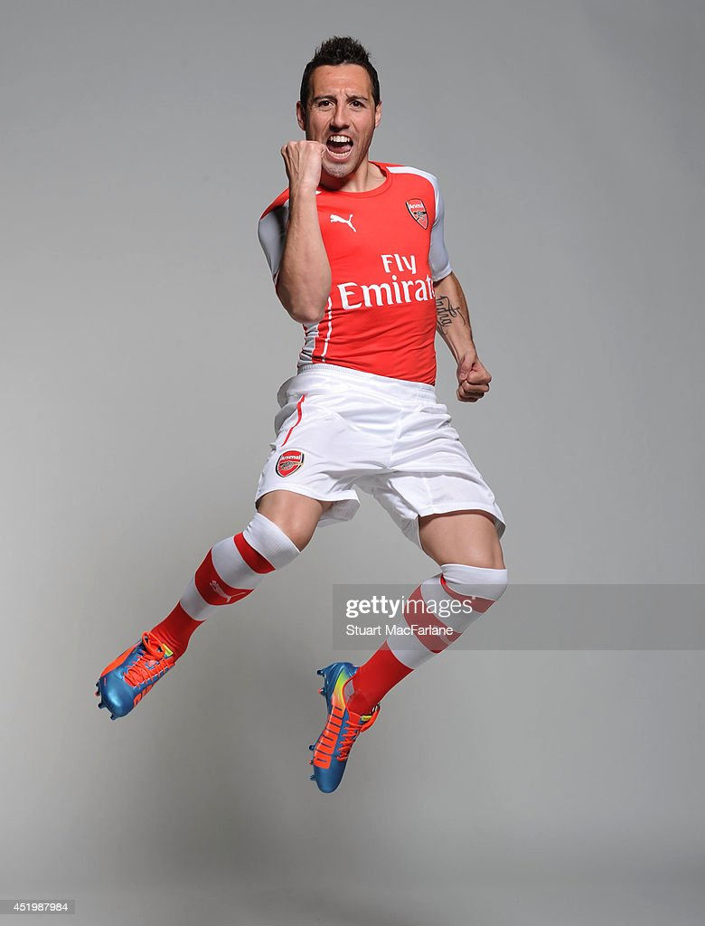 Arsenal Players in Their New kit for Season 2014/15 ...