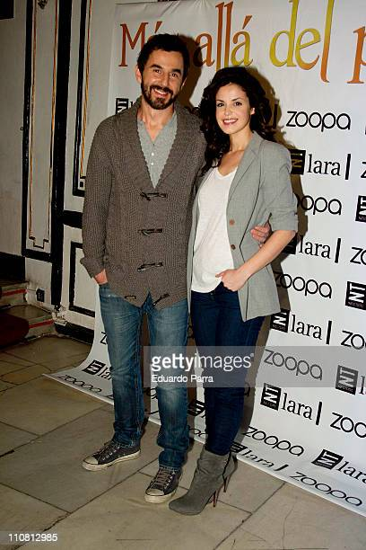 Santi Millan and Marta Torne attends Mas Alla del Puente premiere photocall at Lara theatre on March 24 2011 in Madrid Spain