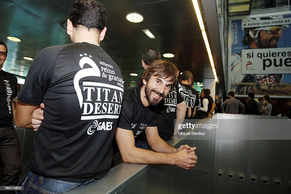 Santi Millan attends the 'Milenio Titan Desert 2013' by Gaes on February 1, 2013 in Barcelona, Spain.
