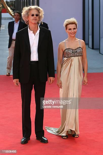 Santiago Amigorena director and Juliette Binoche during The 63rd International Venice Film Festival 'Quelques Jours En Septembre' Premiere at Palazzo...