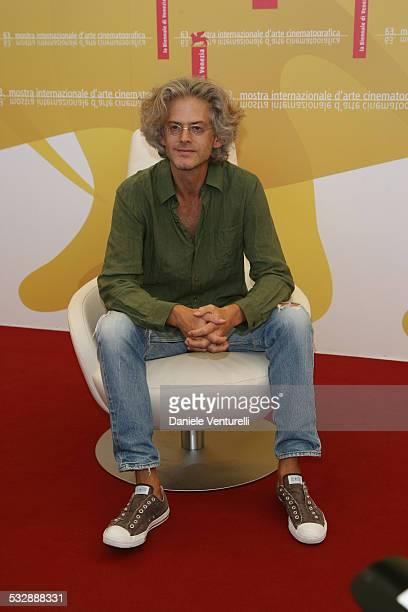 Santiago Amigorena director during The 63rd International Venice Film Festival 'Quelques Jours En Septembre' Photocall at Palazzo del Casino in...