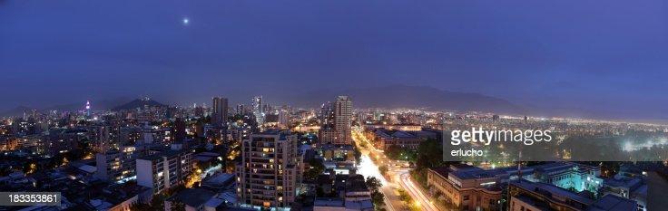Santiago at Night
