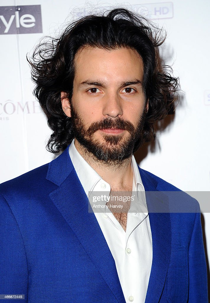 Santiago Cabrera attends InStyle magazine's The Best of British Talent pre-BAFTA party at Dartmouth House on February 4, 2014 in London, England.