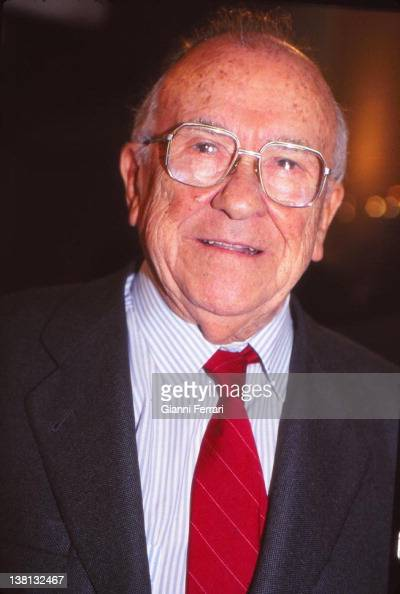 Santiago Carrillo Secretary General of the Spanish Communist Party First December 1997 Madrid Spain