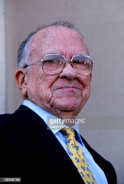 Santiago Carrillo Secretary General of the Spanish Communist Party 14th March 2001 Madrid Spain