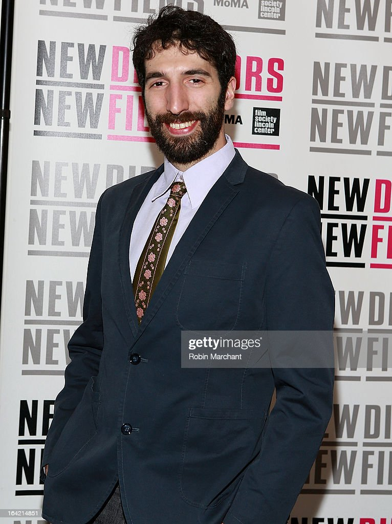 Santiago Gil attends the New Directors/New Films 2013 Opening Night screening of 'Blue Caprice' at the Museum of Modern Art on March 20, 2013 in New York City.